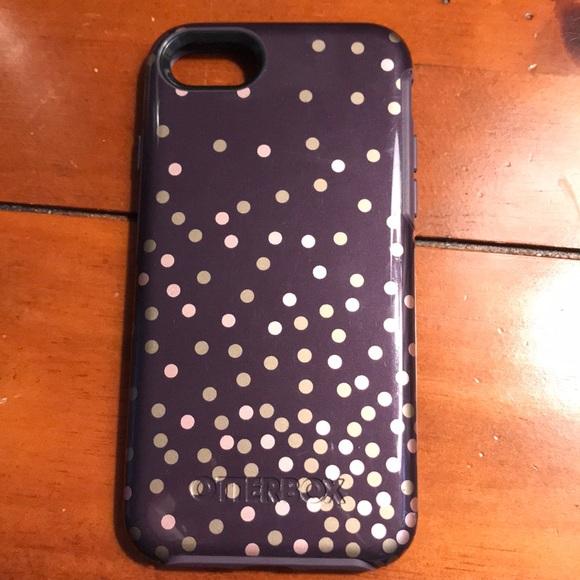 on sale 853ad b090c Otterbox confetti case for iPhone 7/8